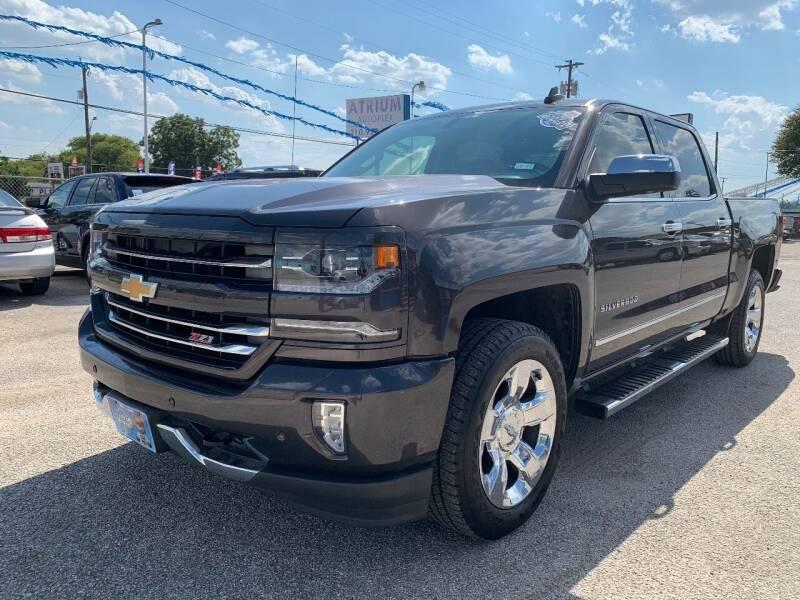 2016 Chevrolet Silverado 1500 for sale at Atrium Autoplex in San Antonio TX