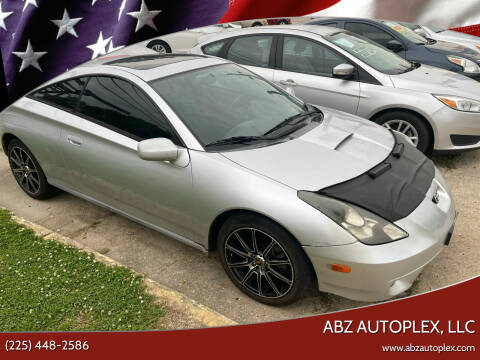 2000 Toyota Celica for sale at ABZ Autoplex, LLC in Baton Rouge LA