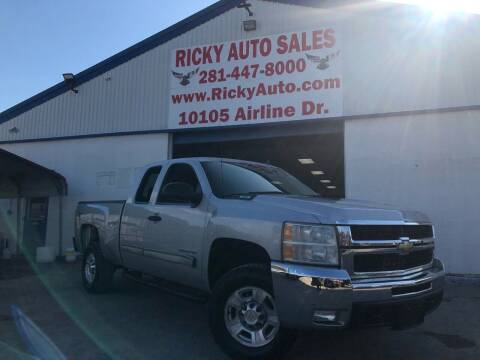 2010 Chevrolet Silverado 2500HD for sale at Ricky Auto Sales in Houston TX