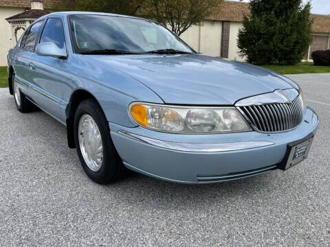 1998 Lincoln Continental for sale at CROSSROADS AUTO SALES in West Chester PA
