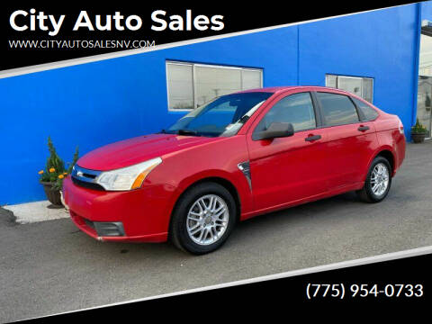 2008 Ford Focus for sale at City Auto Sales in Sparks NV