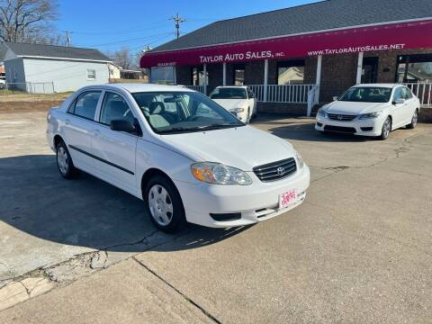 2004 Toyota Corolla for sale at Taylor Auto Sales Inc in Lyman SC