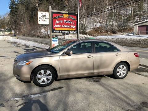 2008 Toyota Camry for sale at Jerry Dudley's Auto Connection in Barre VT
