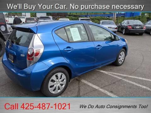 2014 Toyota Prius c for sale at Platinum Autos in Woodinville WA