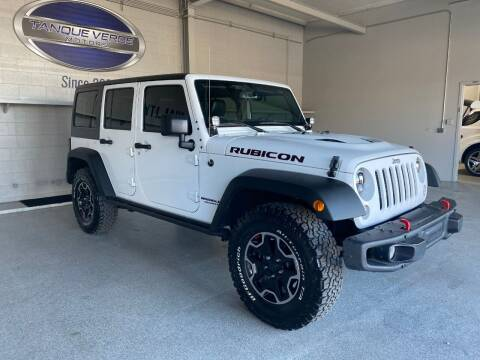 2016 Jeep Wrangler Unlimited for sale at TANQUE VERDE MOTORS in Tucson AZ