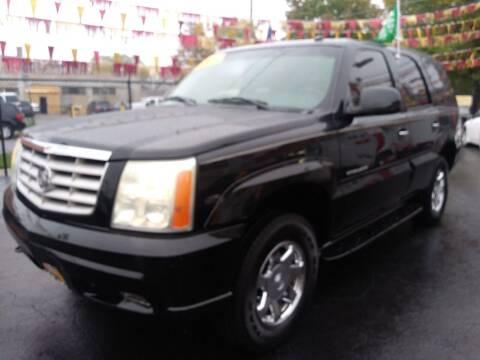 2002 Cadillac Escalade for sale at RON'S AUTO SALES INC in Cicero IL