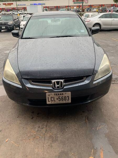 2003 Honda Accord for sale at SBC Auto Sales in Houston TX