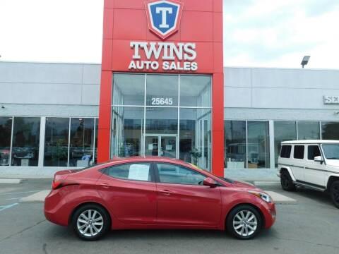 2015 Hyundai Elantra for sale at Twins Auto Sales Inc Redford 1 in Redford MI