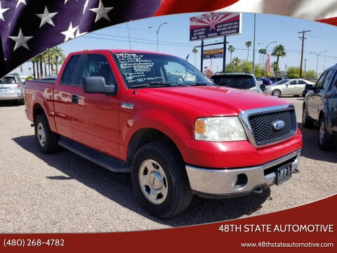 2008 Ford F-150 for sale at 48TH STATE AUTOMOTIVE in Mesa AZ