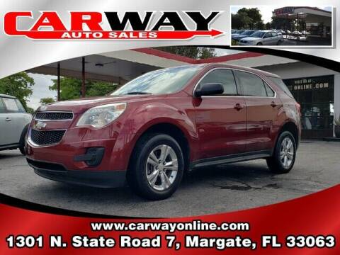2010 Chevrolet Equinox for sale at CARWAY Auto Sales in Margate FL