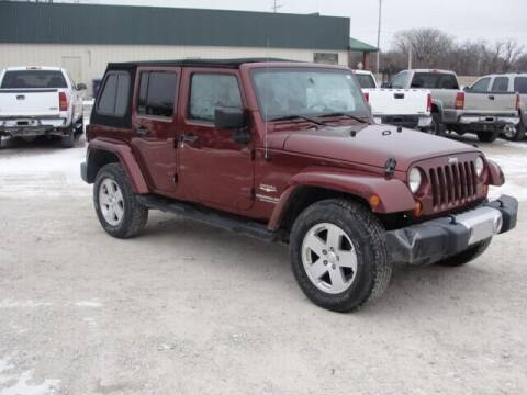 2008 Jeep Wrangler Unlimited for sale at Frieling Auto Sales in Manhattan KS