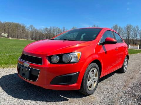 2013 Chevrolet Sonic for sale at GOOD USED CARS INC in Ravenna OH
