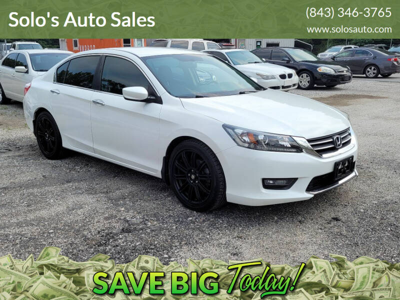 2014 Honda Accord for sale at Solo's Auto Sales in Timmonsville SC