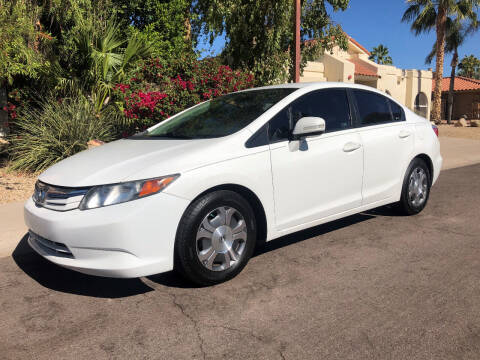 2012 Honda Civic for sale at Arizona Hybrid Cars in Scottsdale AZ