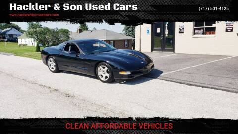 1999 Chevrolet Corvette for sale at Hackler & Son Used Cars in Red Lion PA