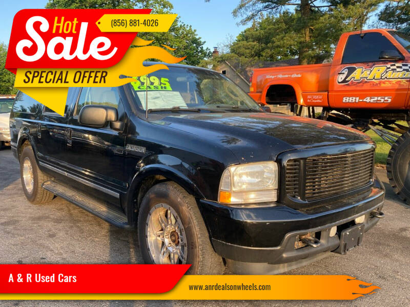 2003 Ford Excursion for sale at A & R Used Cars in Clayton NJ
