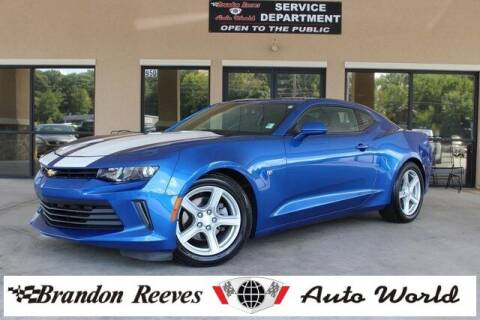 2017 Chevrolet Camaro for sale at Brandon Reeves Auto World in Monroe NC