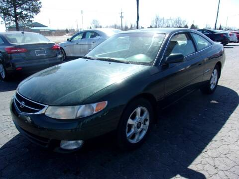 2000 Toyota Camry Solara for sale at DAVE KNAPP USED CARS in Lapeer MI