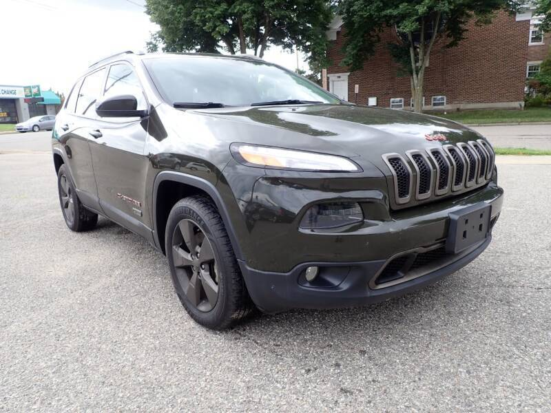 2016 Jeep Cherokee for sale at Marvel Automotive Inc. in Big Rapids MI