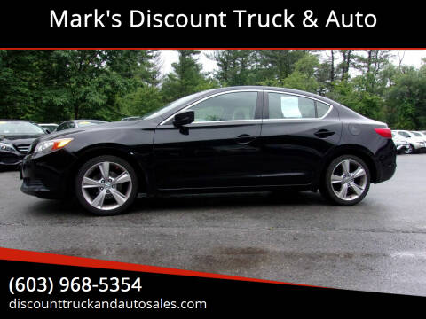 2014 Acura ILX for sale at Mark's Discount Truck & Auto in Londonderry NH
