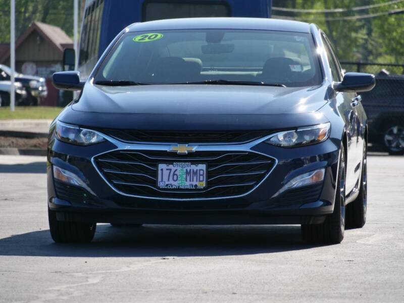 2020 Chevrolet Malibu for sale at CLINT NEWELL USED CARS in Roseburg OR