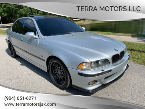 2000 BMW M5 for sale at Terra Motors LLC in Jacksonville FL
