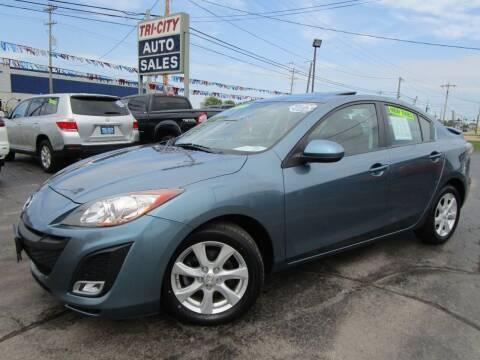 2010 Mazda MAZDA3 for sale at TRI CITY AUTO SALES LLC in Menasha WI