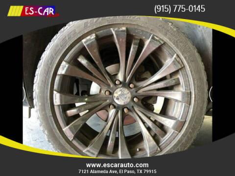 2012 Cadillac Escalade for sale at Escar Auto in El Paso TX