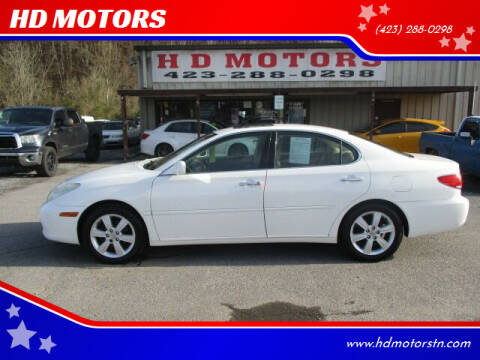 2005 Lexus ES 330 for sale at HD MOTORS in Kingsport TN