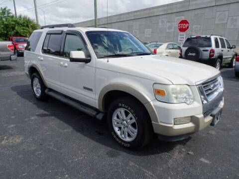 2008 Ford Explorer for sale at DONNY MILLS AUTO SALES in Largo FL