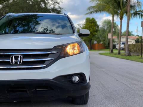 2014 Honda CR-V for sale at HIGH PERFORMANCE MOTORS in Hollywood FL