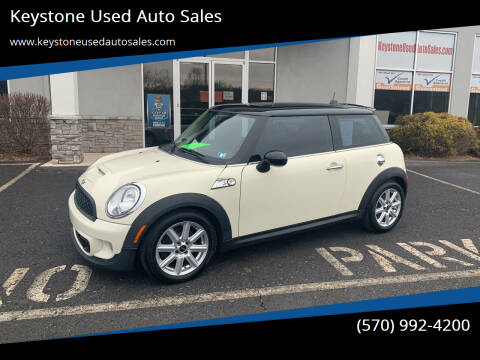 2011 MINI Cooper for sale at Keystone Used Auto Sales in Brodheadsville PA