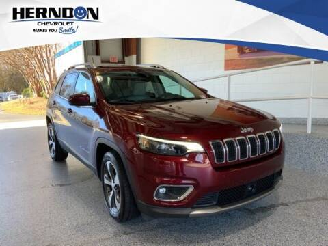 2019 Jeep Cherokee for sale at Herndon Chevrolet in Lexington SC