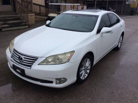 2010 Lexus ES 350 for sale at OASIS PARK & SELL in Spring TX