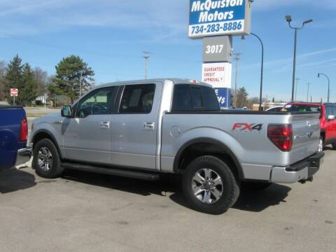 2014 Ford F-150 for sale at MCQUISTON MOTORS in Wyandotte MI