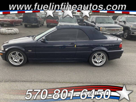 2003 BMW 3 Series for sale at FUELIN FINE AUTO SALES INC in Saylorsburg PA
