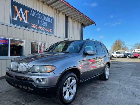 2006 BMW X5 for sale at M & A Affordable Cars in Vancouver WA