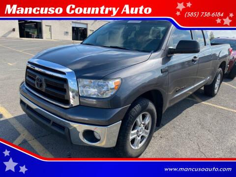 2013 Toyota Tundra for sale at Mancuso Country Auto in Batavia NY