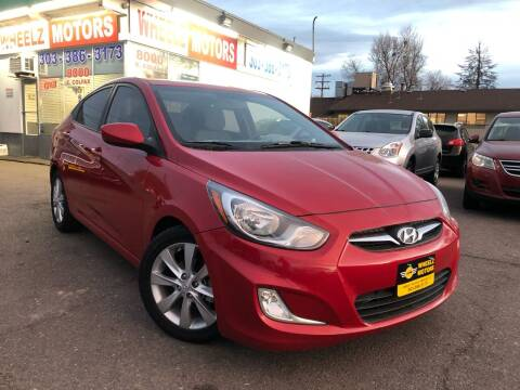 2012 Hyundai Accent for sale at GPS Motors in Denver CO