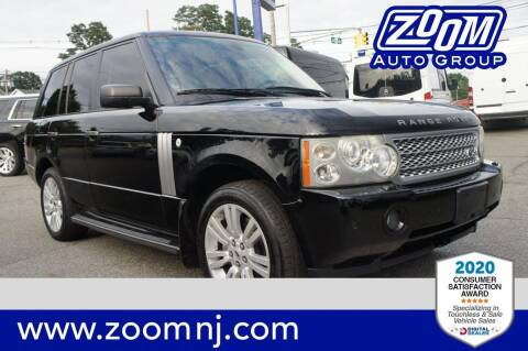 2008 Land Rover Range Rover for sale at Zoom Auto Group in Parsippany NJ