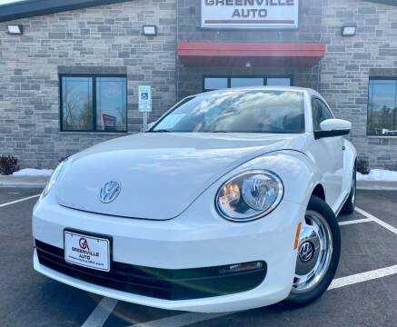 2015 Volkswagen Beetle for sale at GREENVILLE AUTO in Greenville WI