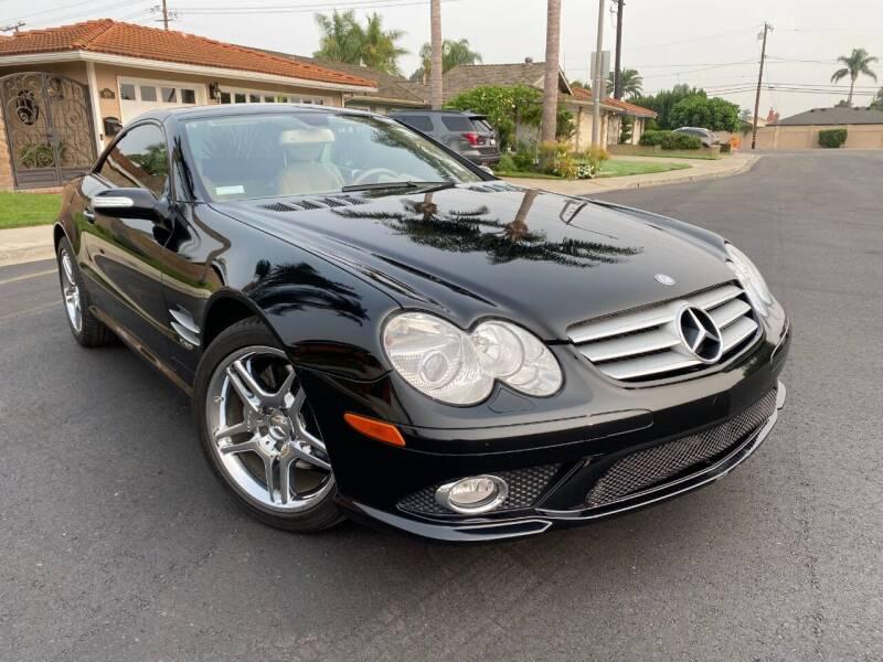 2007 Mercedes-Benz SL-Class for sale at SoCal Motors in Los Alamitos CA