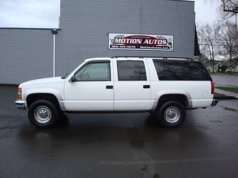 1997 Chevrolet Suburban for sale at Motion Autos in Longview WA