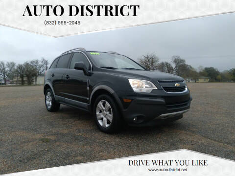 2014 Chevrolet Captiva Sport for sale at Auto District in Baytown TX