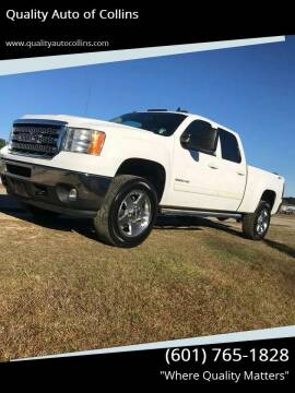 2014 GMC Sierra 2500HD for sale at Quality Auto of Collins in Collins MS