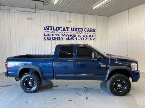 2008 Dodge Ram Pickup 2500 for sale at Wildcat Used Cars in Somerset KY