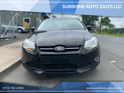 2012 Ford Focus for sale at SUNSHINE AUTO SALES LLC in Paterson NJ