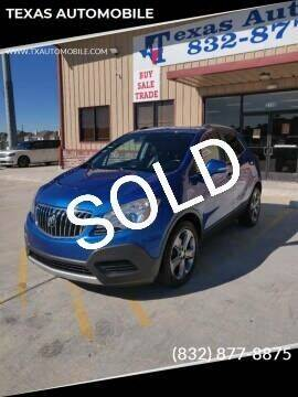 2014 Buick Encore for sale at TEXAS AUTOMOBILE in Houston TX