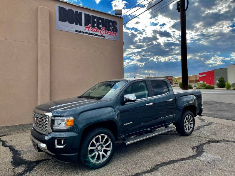2019 GMC Canyon for sale at Don Reeves Auto Center in Farmington NM