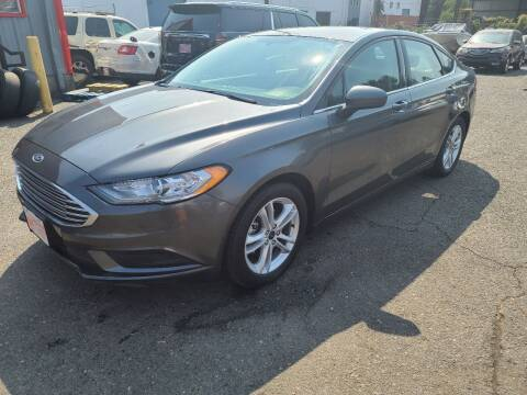 2018 Ford Fusion for sale at Kingz Auto LLC in Portland OR